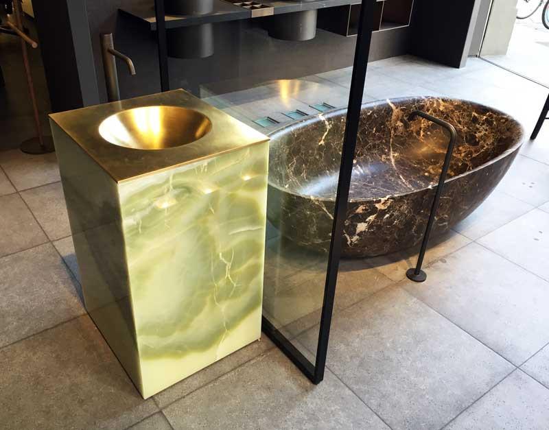Boffi showroom in Via Solferino, Milan