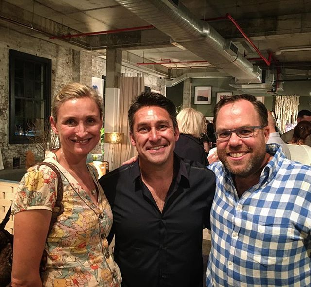 James Treble Lisa Green Jamie Durie
