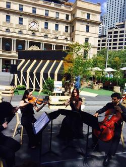 String Quartet Playing