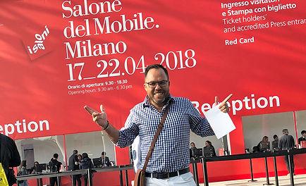 James Treble at Milano Design Week - Salone del Mobile - Eurocucina