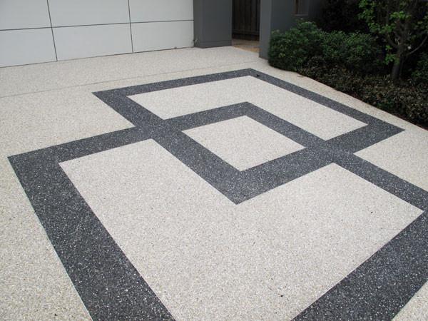 design addition to concrete pur