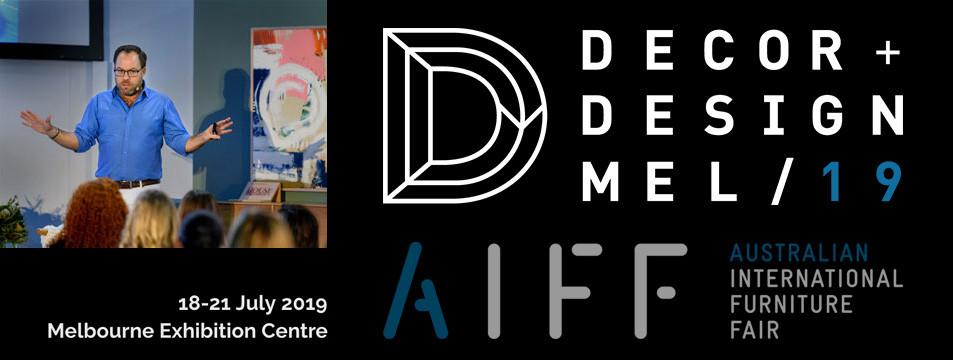 James Treble at Decor & Design, Melbourne