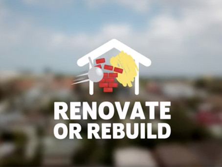 Renovate or Rebuild?