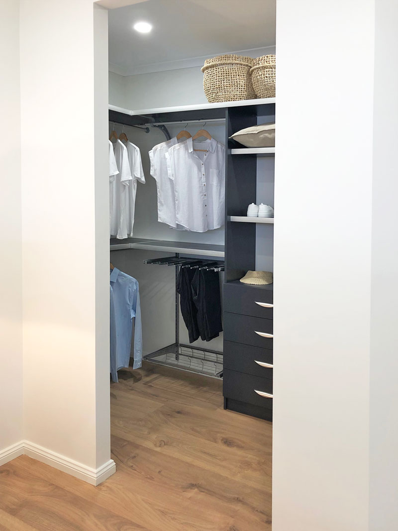 adding storage solutions