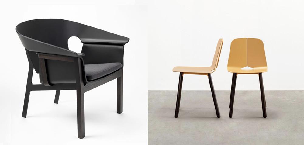 Jon Goulder and Adam Cornish winning designs at Denfair