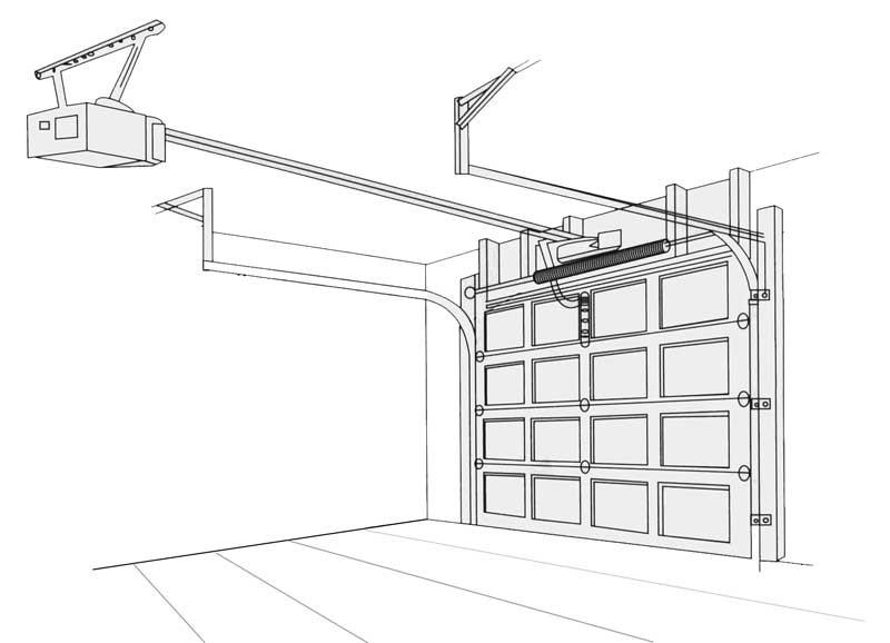 Garage Panel Door