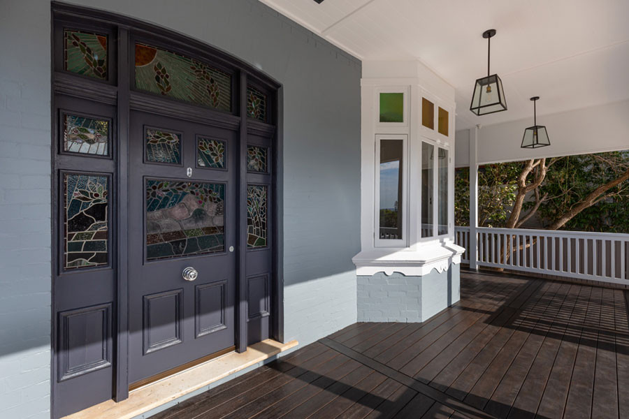 the front door is now the grand one this home deserves