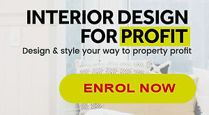 How to increase real estate value. Cherie Barber & James Treble Interior Designer For Profit Online Course. Australia UK USA. Study and learn from the professionals. Years of proven renovation experience and successful business practice.