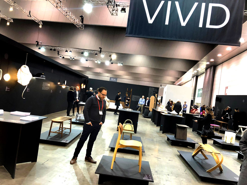 James Treble at Vivid Design Awards in Melbourne
