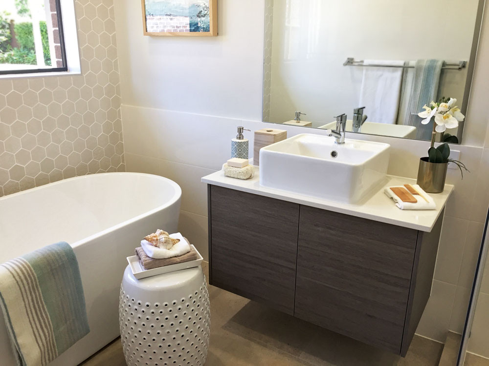 Bathroom Styling into a Hotel Feel
