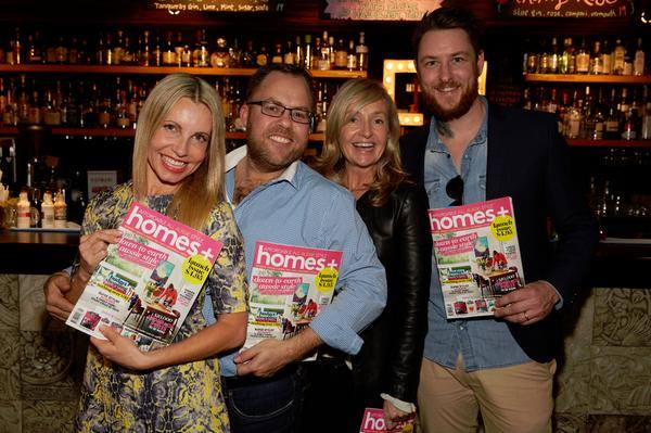 James Treble and the HomesPlus crew