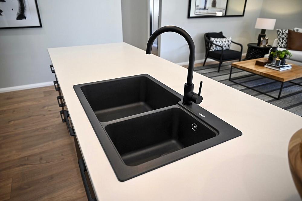 the overmount kitchen sink