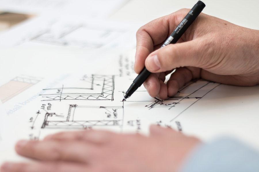 draw a floor-plan