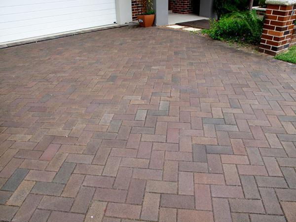 bricks driveway