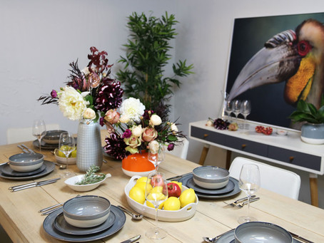 Styling The Table: 'Elegant Autumn'