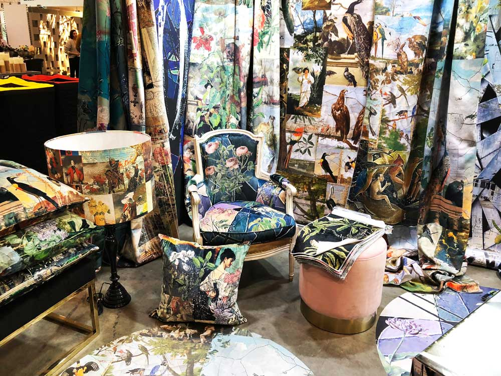Fabrics and Wallpaper by Kerrie Brown