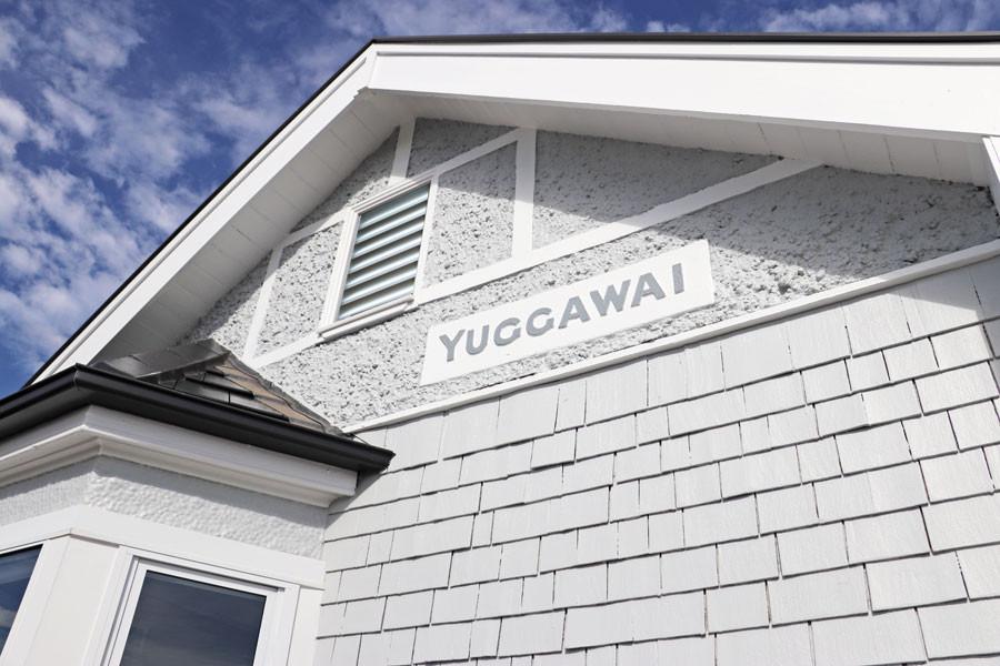 original shingles on the facade