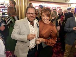 James with Designer Naomi Findlay