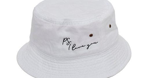 PSILY White Bucket Hat