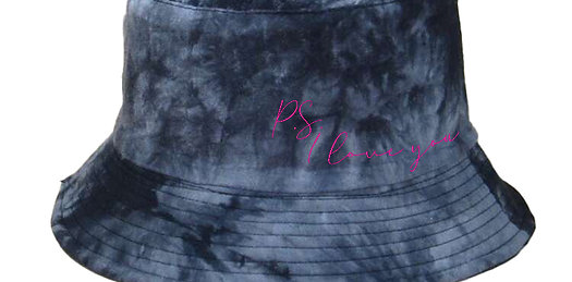 PSILY Black Tie Dye Hat