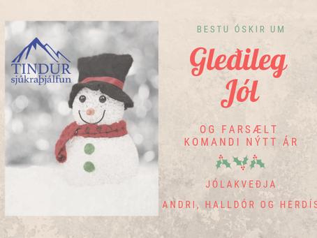 Gleðileg Jól! - lokað 21.desember - 4.janúar 2019
