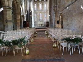 Brinkburn Priory Wedding Ceremony