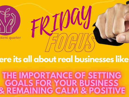 How to Keep Calm and Remain Positive in Business