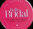 Belle Bridal featured wedding florist