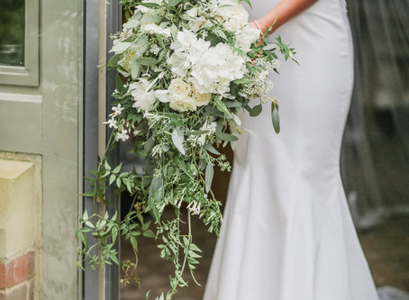 Relaxed yet Elegant Wedding Flowers at Jesmond Dene House Wedding in Newcastle