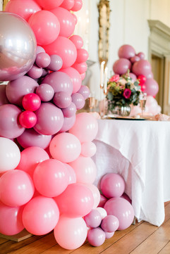 Balloon DIsplay at Capheaton Hall
