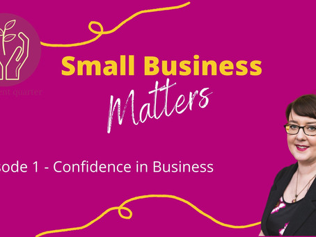 Small Business Matters - Live Interview with Northern Light Coaching on Confidence in Business