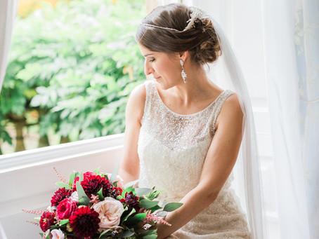 Elegant Autumnal Wedding at Eshott Hall in Northumberland