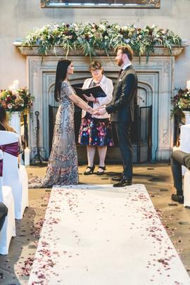 Matfen Hall Wedding Ceremony