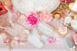 Wedding Menu and place settings