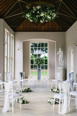 Newby Hall Orangery Micro Wedding Yorkshire