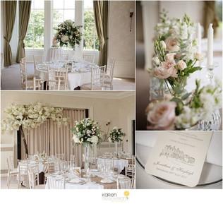 Seaham Hall Wedding Flowers
