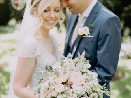 Summer Garden Wedding @ Crook Hall - Wedding Flowers, Bridal Bouquet, Durham Wedding, Wedding Floris