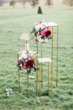 Floral Stands at Capheaton Hall