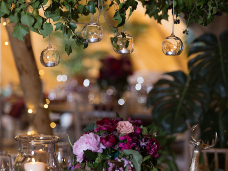 Fruits of the Forest - Photoshoot at Woodhill Hall - Rebecca Reay Photography - Table Centrepiece -