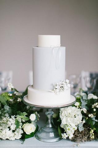 Newby Hall Orangery - Wedding Cake Flower display