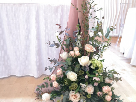 Emma & Steve's Biscuit Factory Wedding - Newcastle Wedding Flowers - City Wedding - Bride Bo