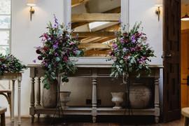 Middleton Lodge Fig House Wedding Ceremony FLowers