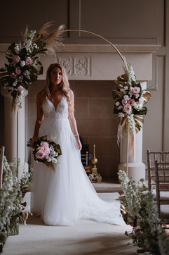 Ellingham Hall Wedding Ceremony in Northumberland