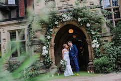 Floral Arch at Jesmond Dene House Newcastle