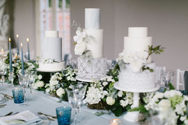 Newby Hall Orangery - Wedding Cake Display
