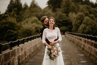 Elopement Bridal bouquet