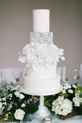 Newby Hall Orangery - Wedding Cake by Poppy Pickering