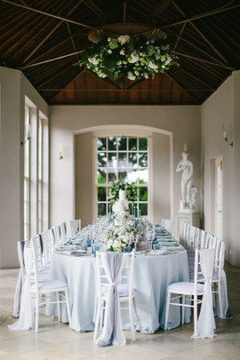 Micro Wedding Dining Table Newby Hall Orangery
