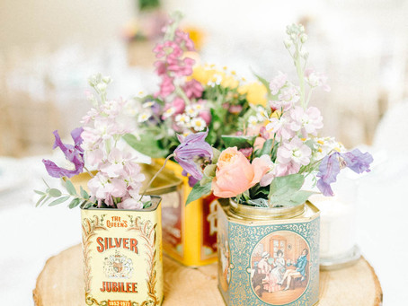 Colourful Vintage Summer Barn Wedding @ Doxford Barns