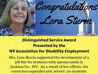 Educator Awarded for Supporting Employment for Individuals with Disabilities